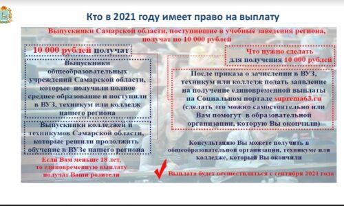 Кто в 2021 году имеет право на выплату